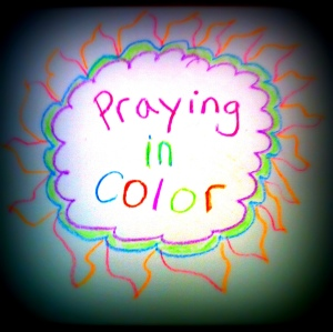 Praying in color is a great activity for kids and adults alike. It is a great way to stay focused and create something beautiful at the same time.