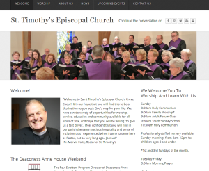 weebly church website