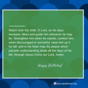 Birthday Prayercards